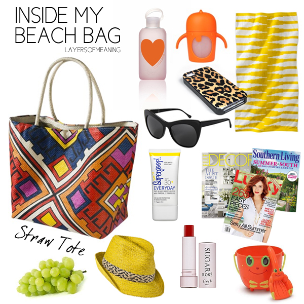 Layers of Meaning: Inside My Beach Bag