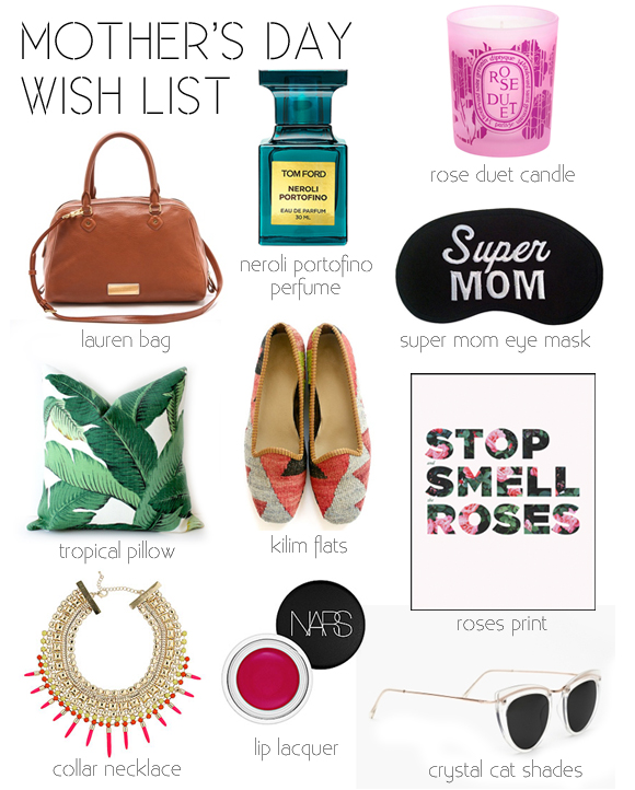 Layers of Meaning: Mother's Day 2013 - Wish list