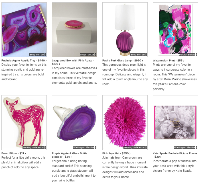 Houzz: 20 Items Inspired by Pantone's Color of the Year