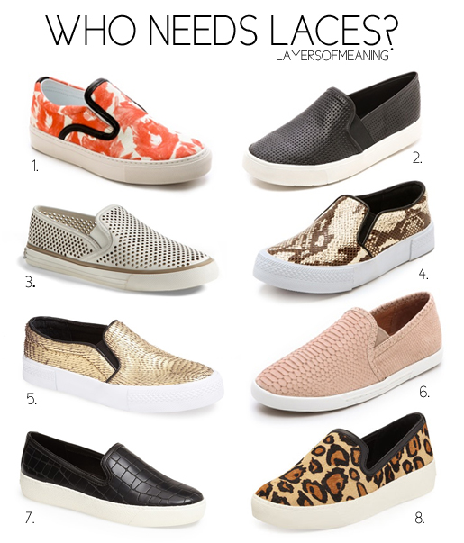 Who Needs Laces? The Best Slip On Shoes