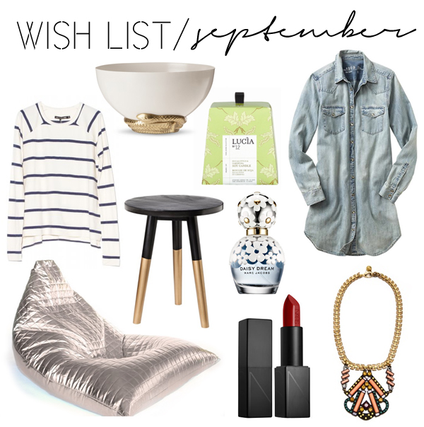 Wish List / September
