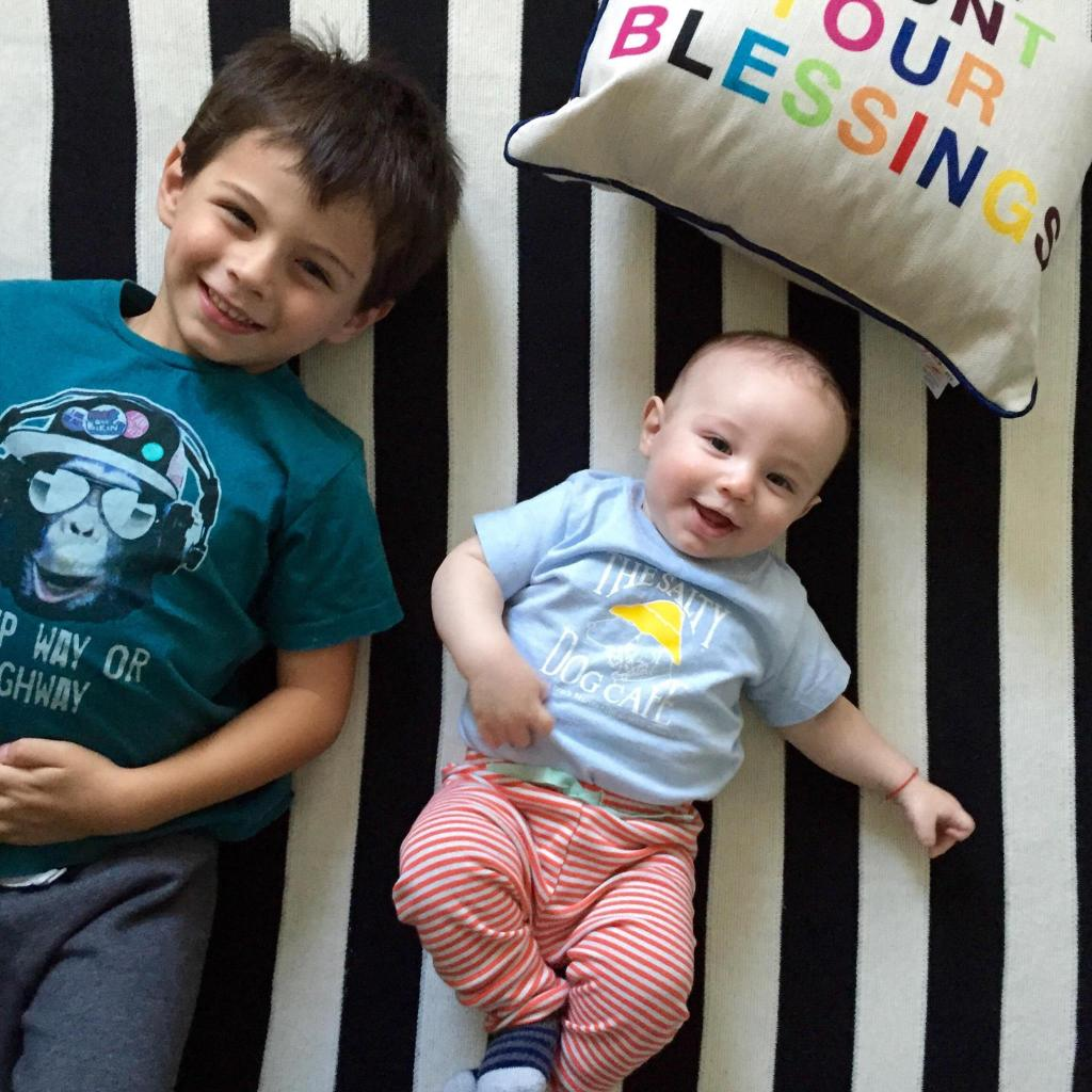 Layers of Meaning Blog: Novogratz Collections - Count Your Blessings - Boys