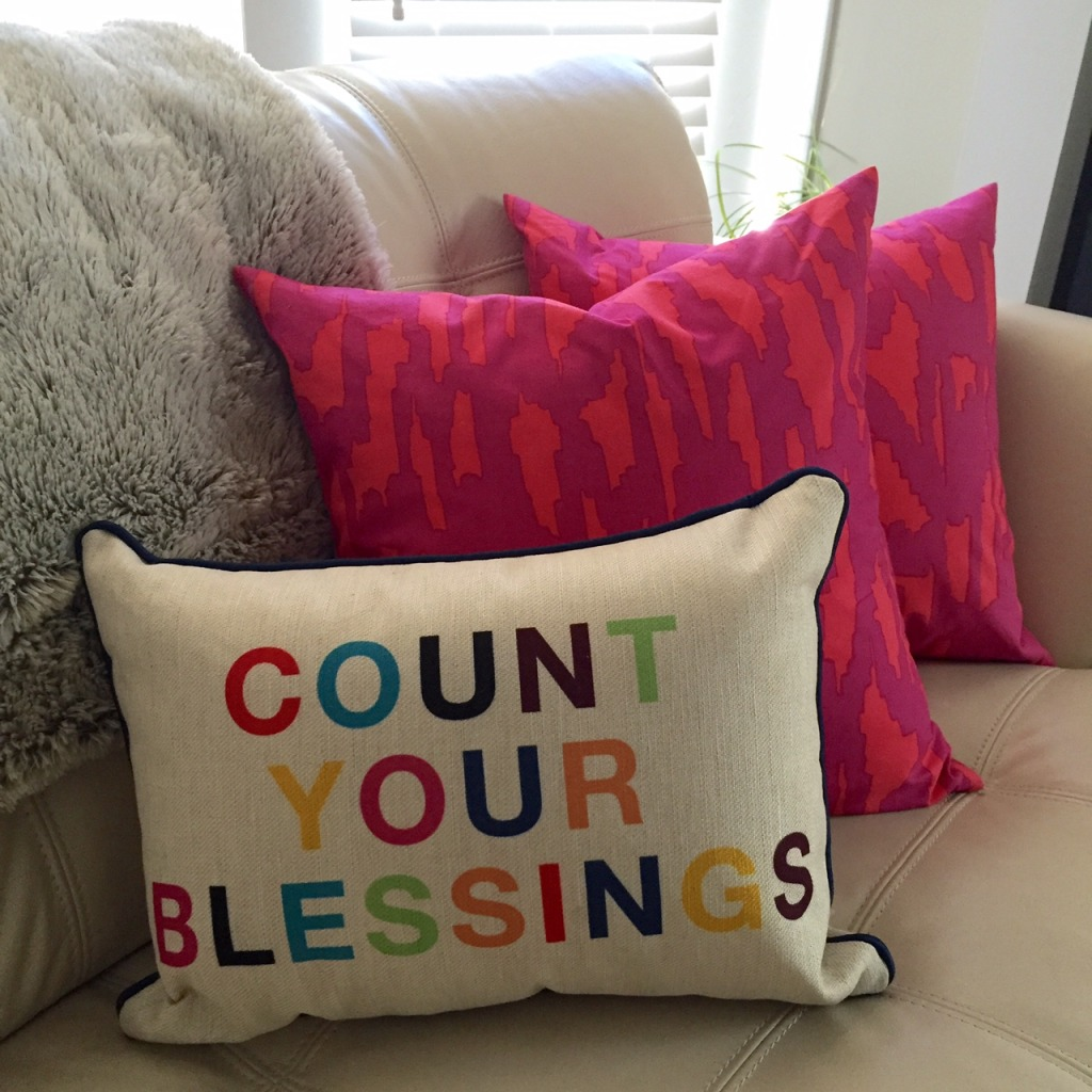 Layers of Meaning Blog: Novogratz Collections - Count Your Blessings