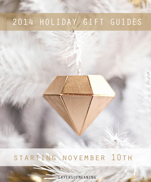 Layers of Meaning: 2014 Holiday Gift Guides