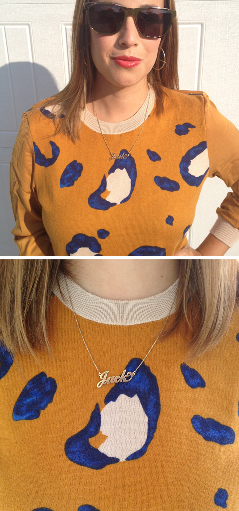 Currently Wearing: Phillip Lim & oNecklace
