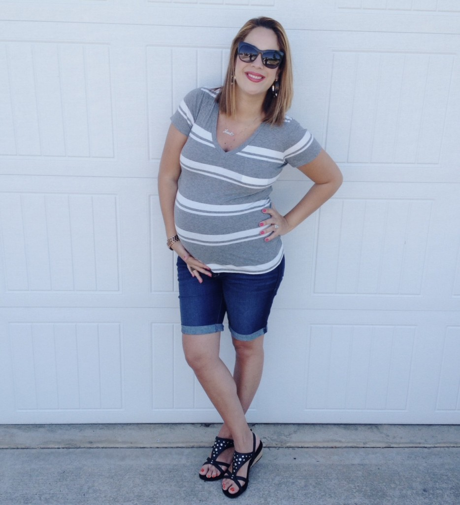 33 weeks pregnant + Vionic Shoes
